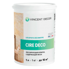 Краска лессирующая Cire Deco base Metallisee Silver для внутренних работ (Vincent Decor)